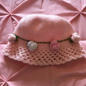 Other - Lovely crocheted baby hat